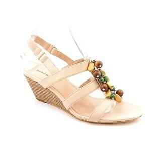 Bandolino Glendale W Open Toe Synthetic Wedge Sandal