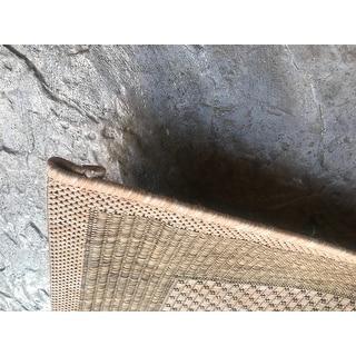 Safavieh Courtyard Natural/ Gold Indoor Outdoor Rug
