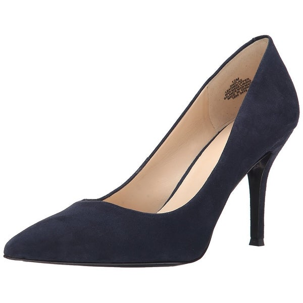 Nine West Womens FLAX Suede Pointed Toe Classic Pumps