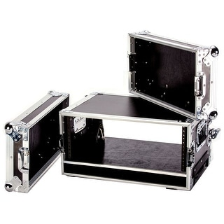 Fly Drive Case For 4U Space Standard Low Profile Dj 19-In Amplifier Or Effects Units Or Similarly Si