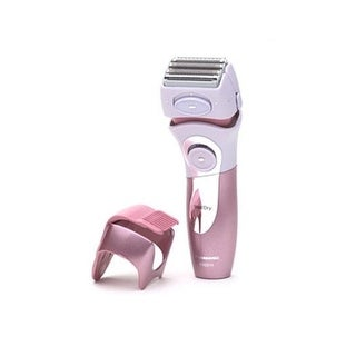 Panasonic Es2216pc Close Curves WomenS Electric Shaver, 4-Blade Cordless Electric Razor With Bikini Attachment And Pop-