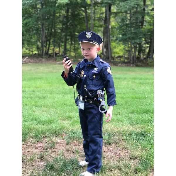 e58997f4719bd Shop Award Winning Deluxe Police Costume Set (Size 2-18) - Free Shipping On  Orders Over $45 - Overstock - 1681361