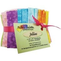 "Top Textures - Fabric Palette Jellies 2.5""X42"" 20/Pkg"