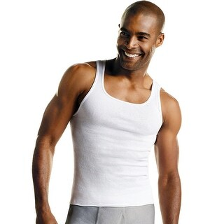 Hanes Men's MRL White A-Shirt P10 - Size - S - Color - White