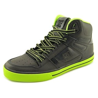 dc shoes colorful. dc shoes spartan high wc round toe leather skate shoe dc colorful r