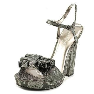 Jessica Simpson Casa Women  Open Toe Synthetic  Platform Heel