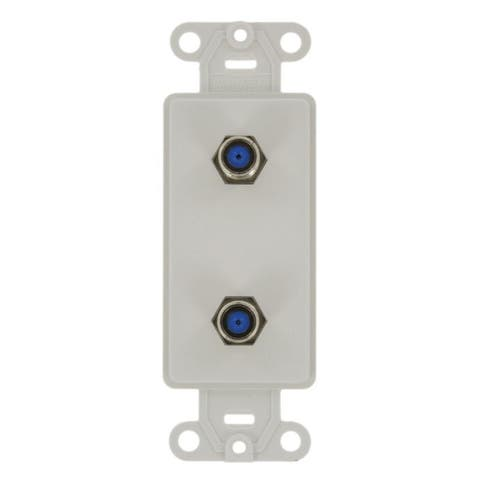 2 F Connector Decora Jack White