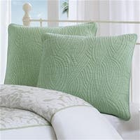Harbor House HH11-503 100 Percent Cotton Euro Sham With Embroidery