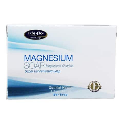 Life-Flo - Magnesium Bar Soap - 4.3 oz. - 4.30 oz.