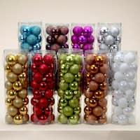 "Pack of 384 Shiny & Glitter Multi-Color Shatterproof Christmas Ball Ornaments 2"" - multi"
