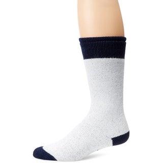 WigWam Moose Crew Socks, X-Large, Sweat Shirt Grey Light/Navy