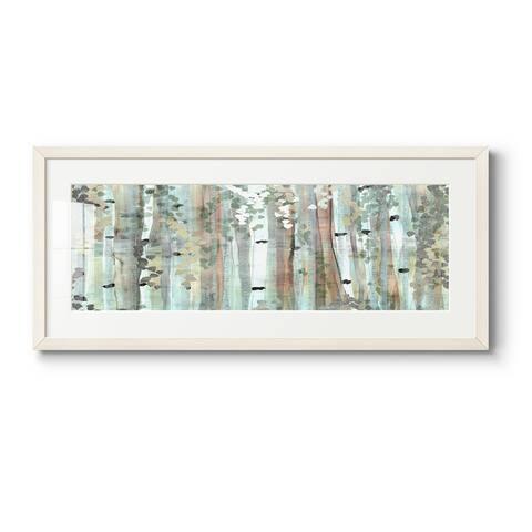 Spring Birch Meadow-Premium Gallery Framed Print
