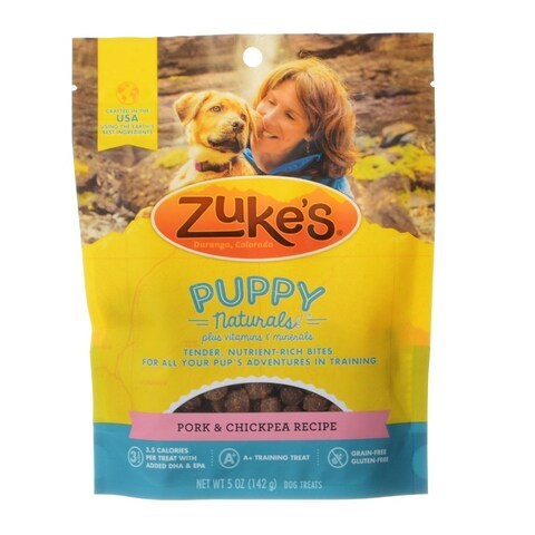 Zukes Puppy Naturals - Pork and Chickpea Recipe - 5 oz
