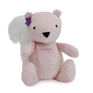 Bedtime Originals Pink Lavender Woods Plush Squirrel - Nibbles