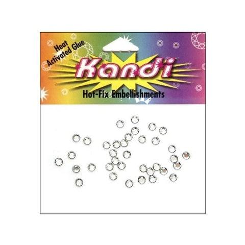 Kandi Swarovski Crystal Pkg 3mm Crystal 36pc