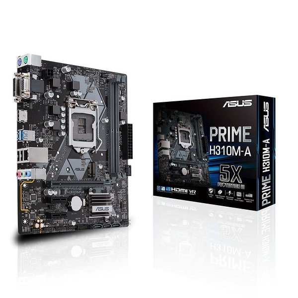Asus - Motherboards - Prime H310m-A