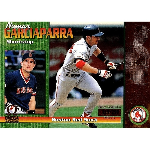 Signed Garciaparra Nomar Boston Red Sox Nomar Garciaparra 1999 Pacific Omega Gold Unsigned Baseball