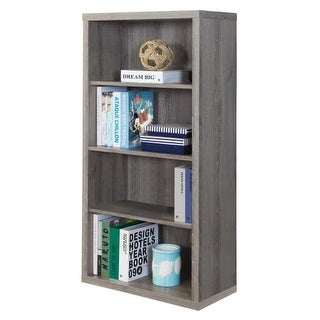 Monarch Specialties I 7060 48 Inch Tall Shelving Unit with Adjustable Shelves