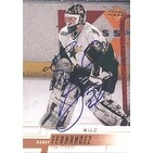 Manny Fernandez Minnesota Wild 2000 Upper Deck Autographed Card  This item comes with a certificate
