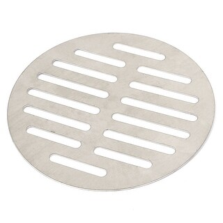 Unique Bargains Stainless Steel Round Sink Floor Drain Strainer Cover 5 Inch Dia