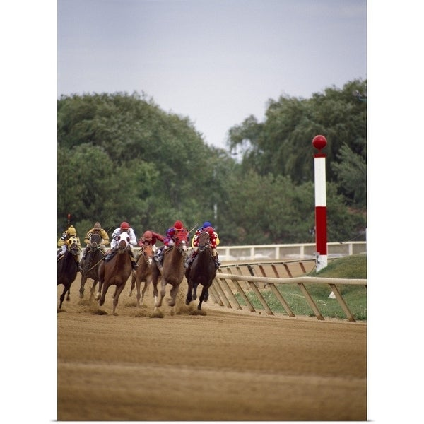 Shop Horse race, Arlington Park, Chicago, Cook County