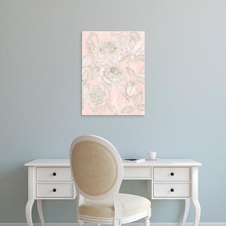 Easy Art Prints Melissa Wang's 'Blooming Roses I' Premium Canvas Art