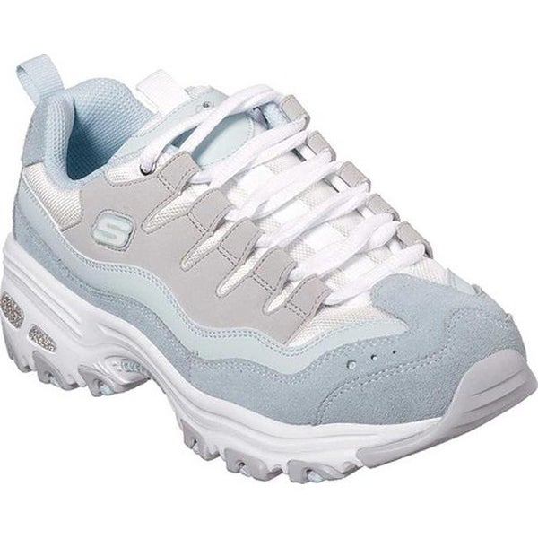 Skechers Sure Light Thing D'lites Shop Sneaker Women's Bluegrey 4Aj5RL