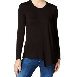 Kut From The Kloth NEW Black Asymmetrical Women's Size XS Blouse