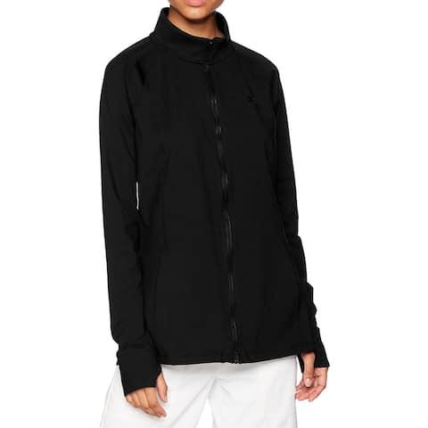 Under Armour Women's Jacket Black Medium M Full Zip Performance Zinger