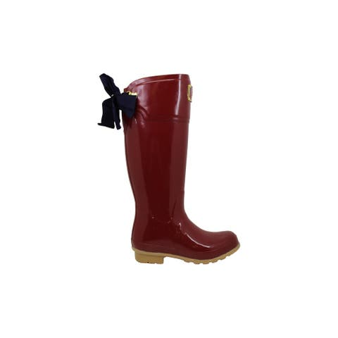 Joules Womens Evedon Rubber Closed Toe Knee High Cold Weather Boots