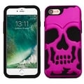 Insten Skullcap Hard PC/ Silicone Dual Layer Hybrid Rubberized Matte Case Cover For Apple iPhone 7 - Thumbnail 1