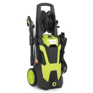 Arksen 3000 PSI 1.7 GPM 14.5 AMP Electric Pressure Washer with (5) Nozzle Adapter with Hose Reel, Green|https://ak1.ostkcdn.com/images/products/is/images/direct/550ae58af4bda71b57b33378d51ea1cf30dc6301/Arksen-3000-PSI-1.7-GPM-14.5-AMP-Electric-Pressure-Washer-with-%285%29-Nozzle-Adapter-with-Hose-Reel%2C-Green.jpg?impolicy=medium