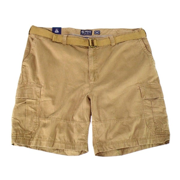 73ed1894b2 Shop American Rag NEW Gold Dull Mens Size 44 Relaxed Fit Belted Cargo Shorts  - Free Shipping On Orders Over $45 - Overstock - 20060124
