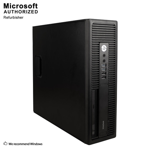 HP EliteDesk 705G2 SFF AMD A4 Pro-8350B 2.40GHz, 8GB RAM, 500GB HDD, DVD, WIFI, BT 4.0, WIN10P64(EN/ES)