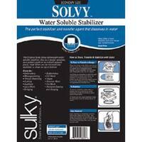 "19.5""X3yd - Solvy Water-Soluble Stabilizer"