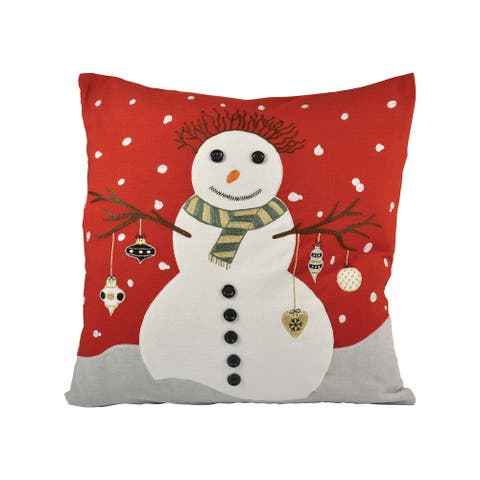 Snowman 20x20 Pillow - COVER ONLY