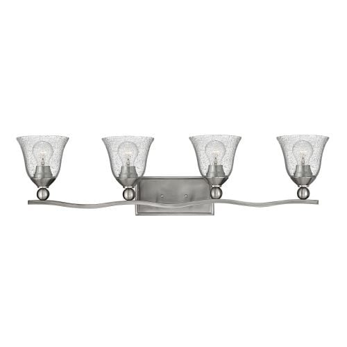 Hinkley Lighting 5894-CL 4 Light Bathroom Fixture from the Bolla Collection