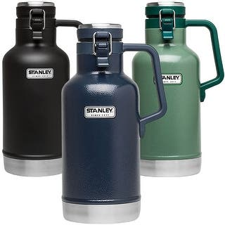 Stanley Classic 2 qt. Vacuum Insulated Stainless Steel Growler https://ak1.ostkcdn.com/images/products/is/images/direct/550f809069aabcf229340ebfbcdf84b8a01a516d/Stanley-Classic-2-qt.-Vacuum-Insulated-Stainless-Steel-Growler.jpg?impolicy=medium