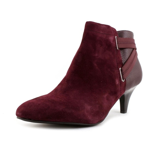 Alfani Vandela 2 Women Round Toe Synthetic Burgundy Bootie