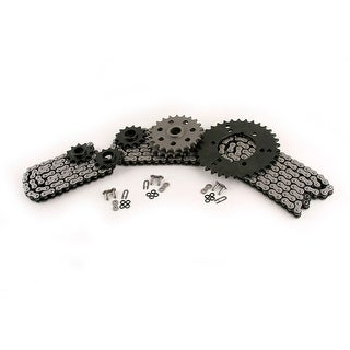 1997 Polaris Sportsman 400 400L CZ ATV X-Ring Chain & Sprocket Complete Set