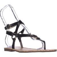 Circus by Sam Edelman Bree Flat Gladiator Sandals, Black