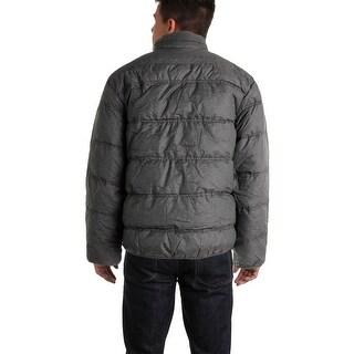Hawke & Co. Mens Puffer Coat Down Packable