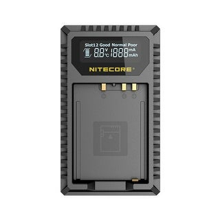 NITECORE FX1 Digital USB Battery Charger for Fujifilm NP-W126 Battery