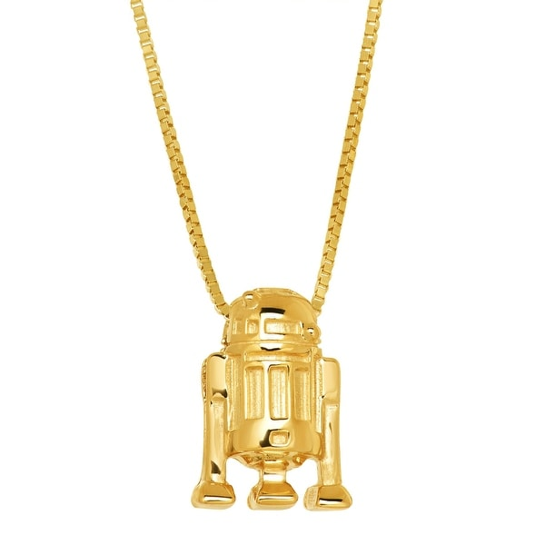 Star Wars R2-D2 Pendant in 10K Gold - Yellow