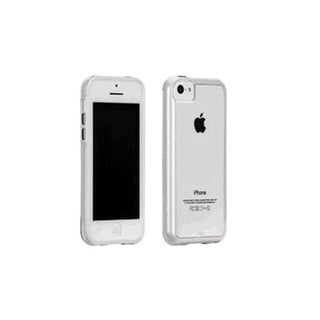 Case-Mate Naked Tough Case for Apple iPhone 5c (Clear/White)