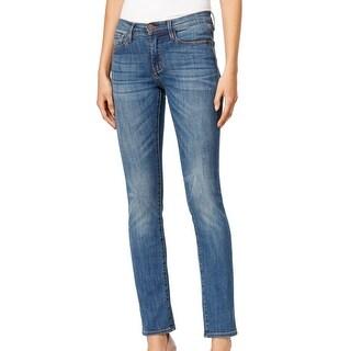 Buffalo David Bitton NEW Blue Women's Size 25X31 Straight Leg Jeans