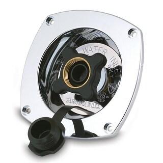 Shurflo Chrome Plated Water Pressure Regulator 65Psi - 183-029-14