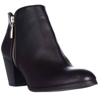 SC35 Jamila Dress Ankle Booties, Black