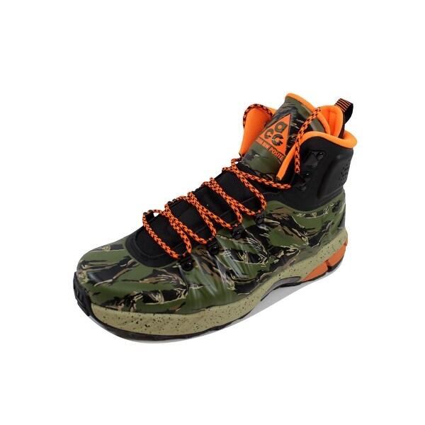 Nike Men's Zoom MW Posite Black/Total Orange-Bamboo-Green Meriwether 616215-083