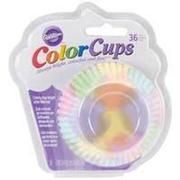 Watercolor 36/Pkg - Colorcup Standard Baking Cups